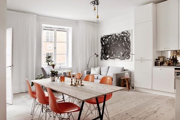 decorar tonos neutros salón