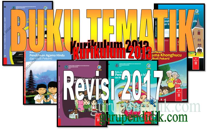 Buku Guru dan Siswa SD K13 Revisi 2017