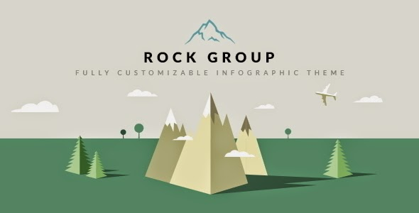 download Rock Group | Multipurpose Infographic Theme