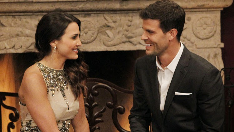 Andi Dorfman and Eric Hill on The Bachelorette