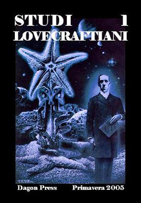 Studi Lovecraftiani #1, riedizione, copertina