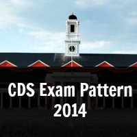 CDS Exam Pattern 2014