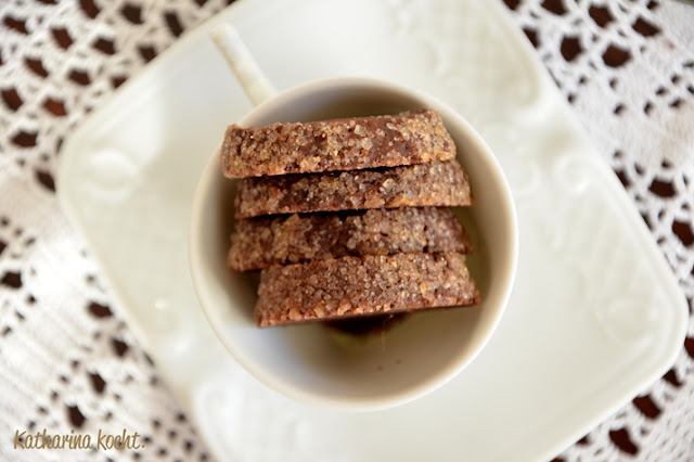 Kakao Espresso Pfeffer Cookies Zuckerrand Heidesand