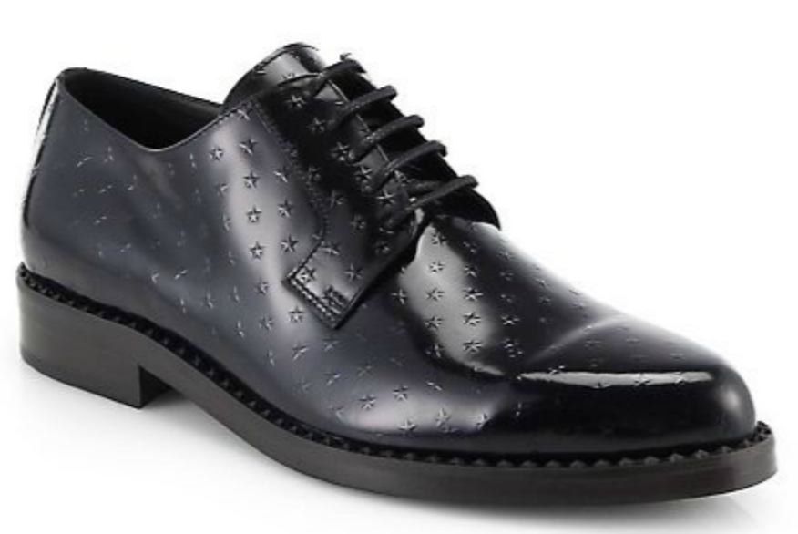 Luxury Jimmy Choo Men's Shoes with Embossed Stars at Saks Fifth Avenue