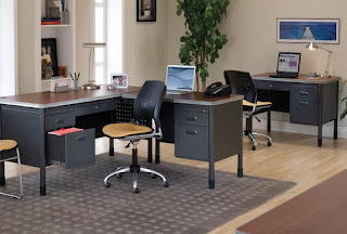OFM Mesa Desk and Stars Computer Chair