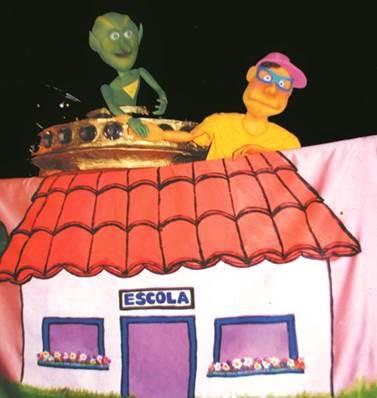 Teatro de bonecos no Bangu Shopping