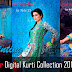 Resham Ghar Digital Kurti Collection 2013 For Women | Digital Printed Tunics For Women By Resham Ghar