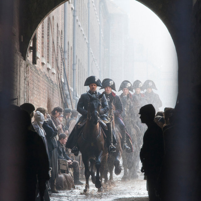 Russell Crowe as Javert Les Misrables (2012) movieloversreviews.blogspot.com