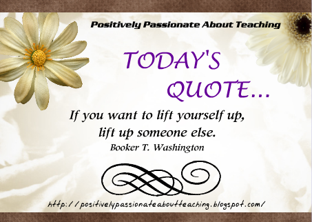 Positively passionate about teaching quote happy teacher next week is teacher appreciation week continue lifting up and encouraging your students we have such an important job and you all do a remarkable job sciox Images