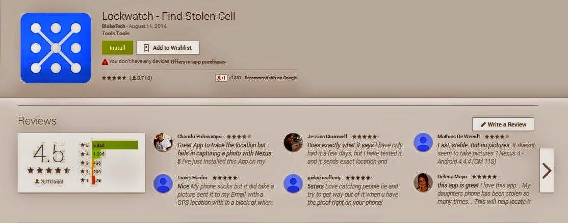 Inilah Aplikasi Paling Berguna Untuk Jejak Si Pencuri Telefon Pintar Anda