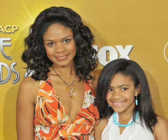 Kimberly Elise Daughter Ajableu Kimberly elise and daughter
