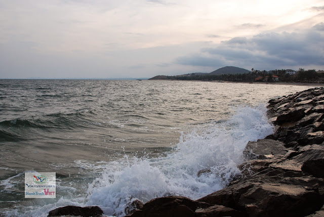 Le soleil se couche sur la mer - Muine
