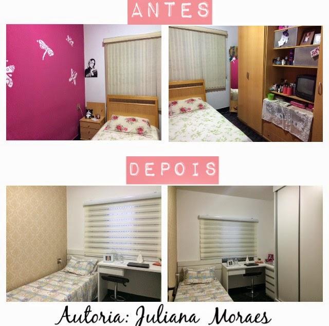 Reforma De Quarto ~ Construindo Minha Casa Clean Reforma do Quarto da Leitora Juliana Moraes!