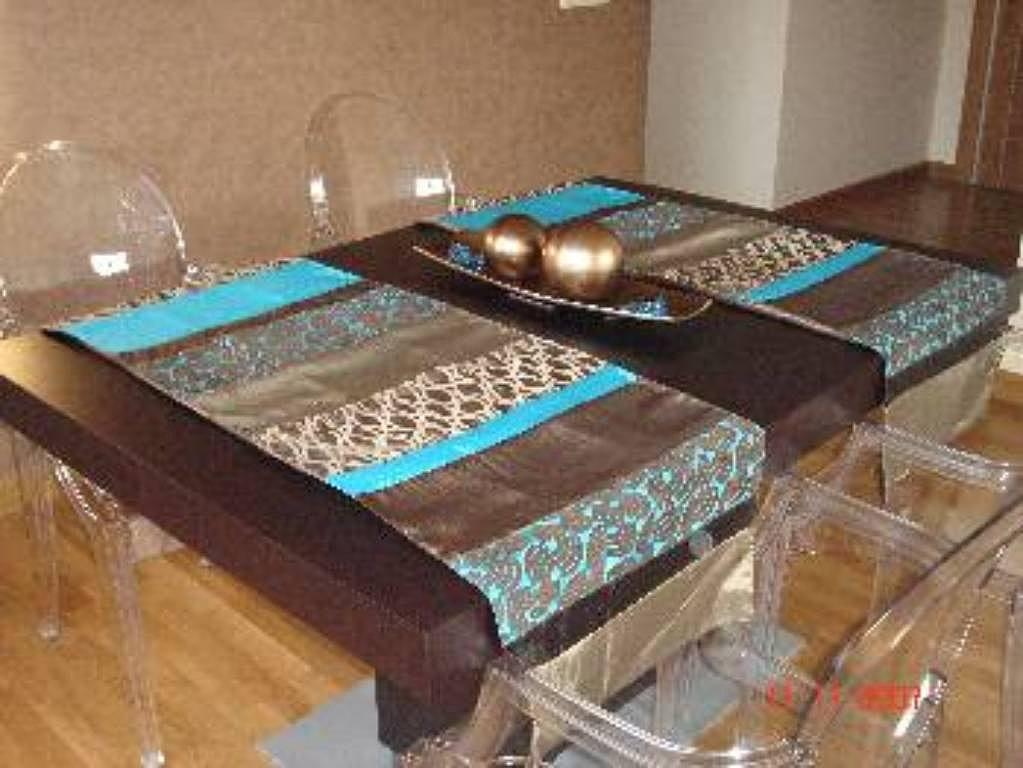 Tapetes y caminos de mesa perfectos para tu hogar for Tapete mesa