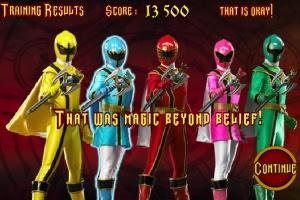 Power Ranger - Mystic Training