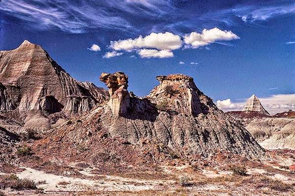 Dinosaur Provincial Park Fred the Camel