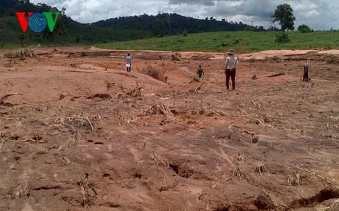 Gia Lai: Sự cố vỡ đập thủy điện Ia Krêl 2 - Tiếp tục đền bù người dân gần 1 tỷ đồng