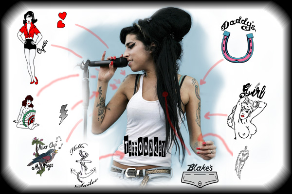 tatouage Amy Winehouse