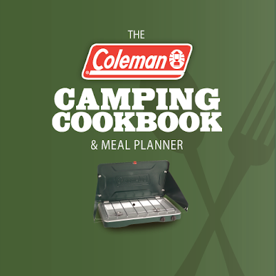 Coleman camping Cookbook and Meal Planner