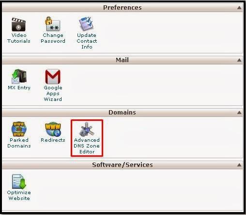 Blogspot dengan Domain Sendiri Tidak Dapat Diakses Tanpa WWW