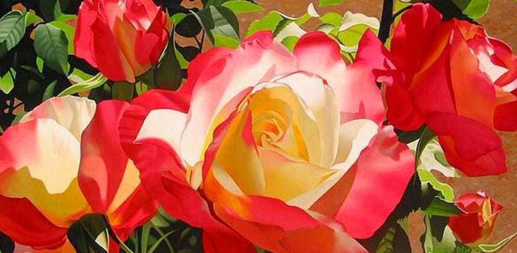 Cuadros modernos pinturas y dibujos flores modernas cuadros - Cuadros flores modernas ...