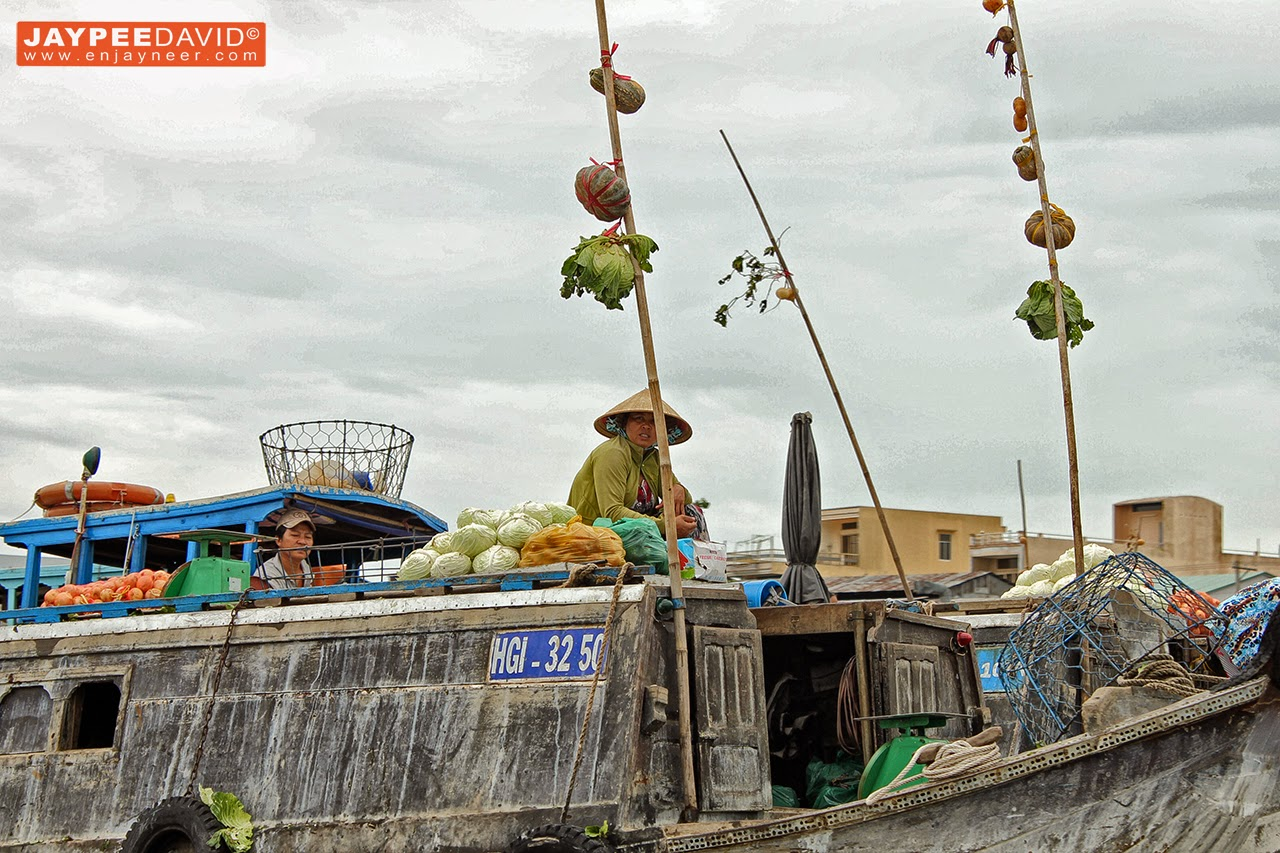 floating market, cai rang, can tho, vietnam, travel, asia, backpacking