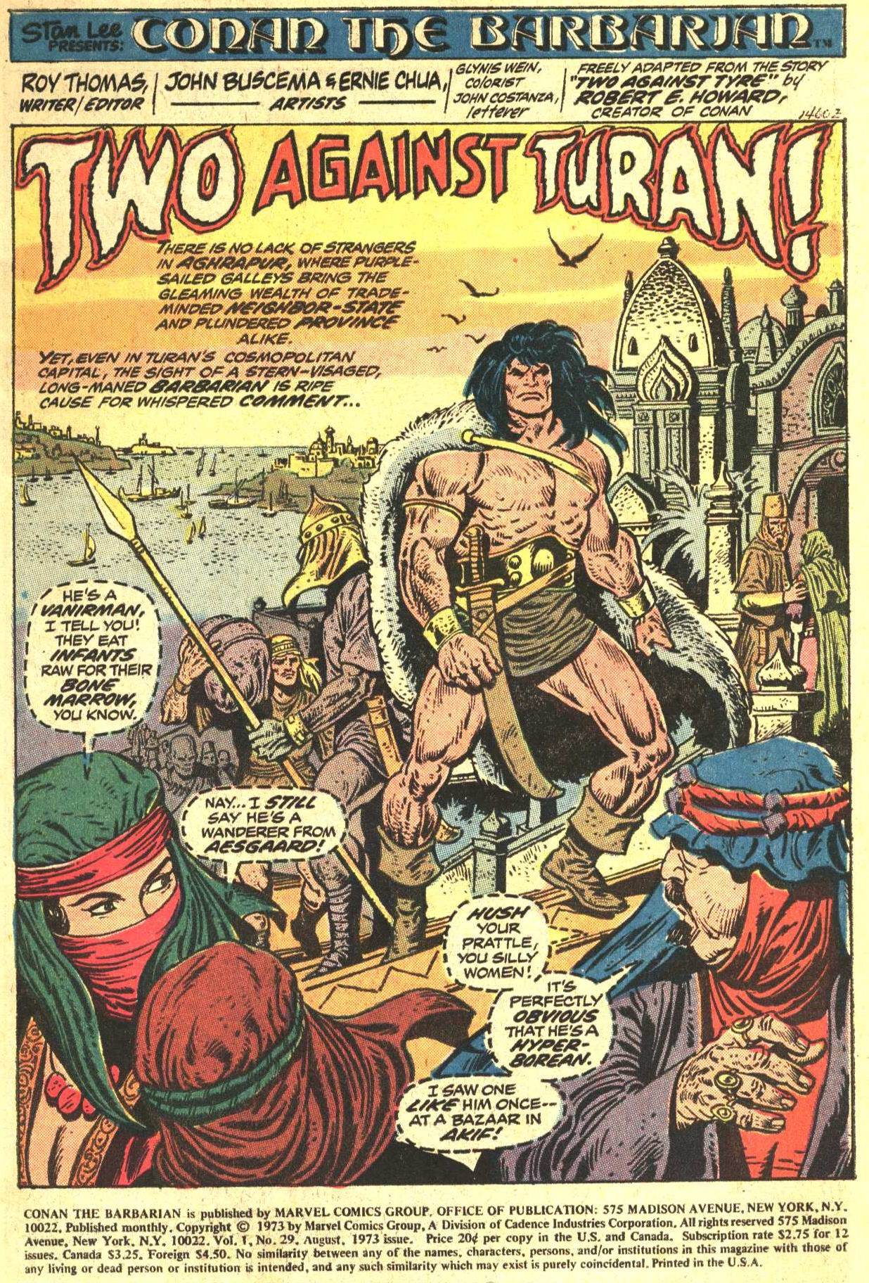 Conan the Barbarian (1970) Issue #29 #41 - English 2