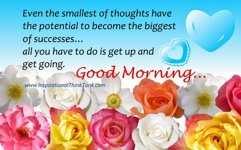 Good Morning Wishes Images With Motivating Quote