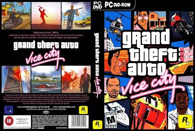 GTA Vice City PC DVD Capa