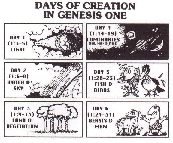 a discussion of the creation story in genesis 1 2 The two biblical stories of creation most people don't realize it, but there are two (yes the first story runs from genesis 1:1 thru genesis 2:3 the second story picks up at genesis 2:4 and runs to the end of the chapter at genesis 2:25 in the first story, creation takes six days and man.