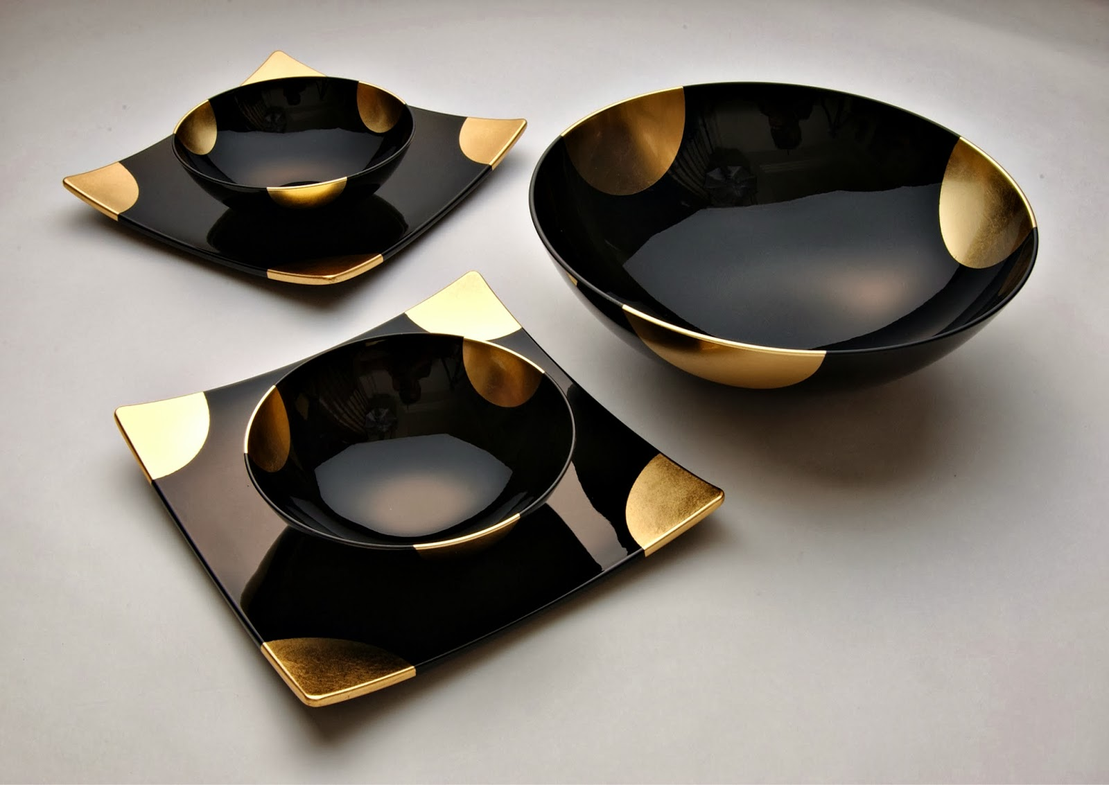 awsome black marble dinner set ideas4u