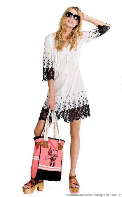Portsaid primavera verano 2014. Moda verano 2014 vestidos.