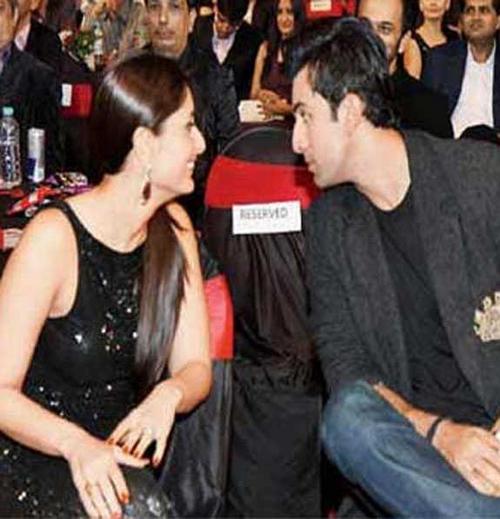 Ranbir Kapoor with Sister Kareena Kapoor