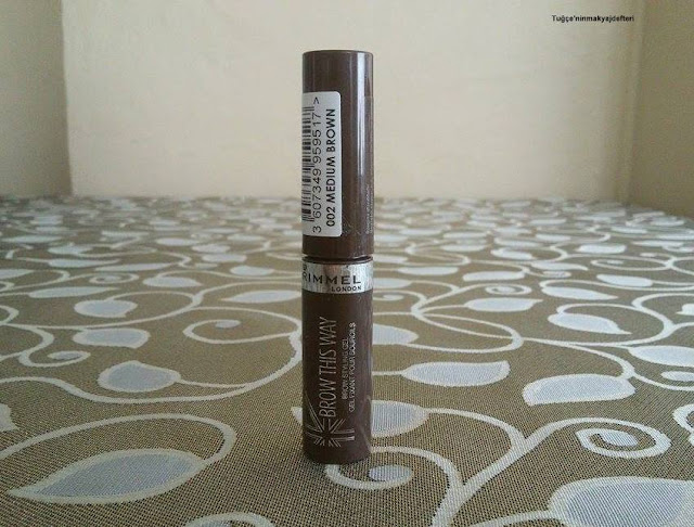 Rimmel London Brow This Way Kaş Maskarası