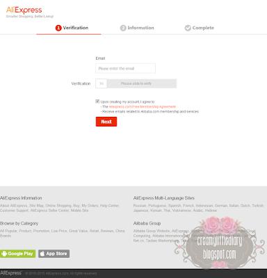 Review Shopping di Aliexpress.com