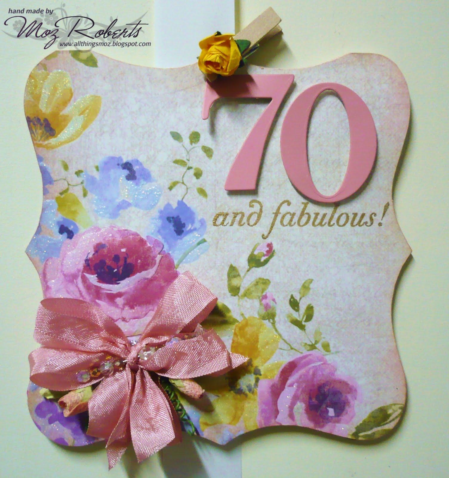special 70th birthday ideas