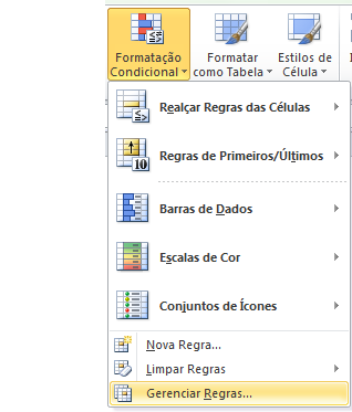 Como fazer a formatação condicional no Excel -