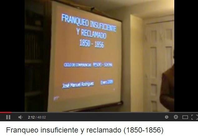 FRANQUEO INSUFICIENTE Y RECLAMADO 1850 - 1856 (JOSÉ MANUEL RODRIGUEZ)