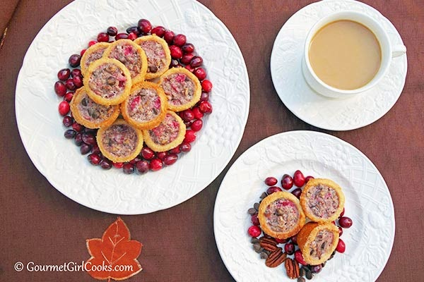 Almond-Flour-Cranberry-Tartlets