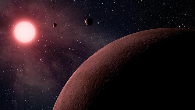 Exoplaneta en enana roja