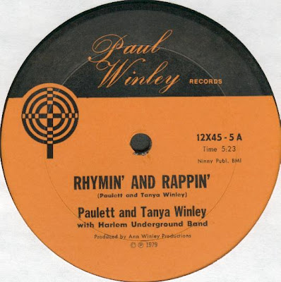 Paulett Winley & Tanya Winley / Ann Winley ‎– Rhymin' And Rappin' / Watch Dog (1979) (VLS) (320 kbps)