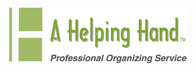 A Helping Hand  - Professional Organizing Service