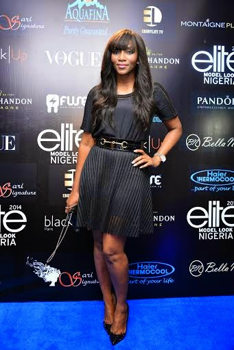 Genevieve Nnaji and Agbani Darego at The Elite Model ...