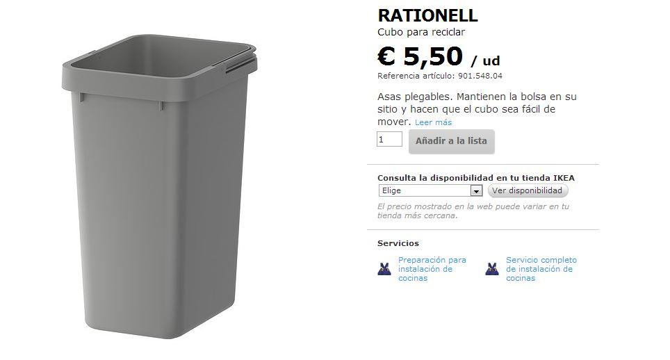 Blog decor el cubo de basura for Cubos de reciclaje ikea