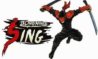 Screenshots of the Blind Ninja: Sing for Android tablet, phone.