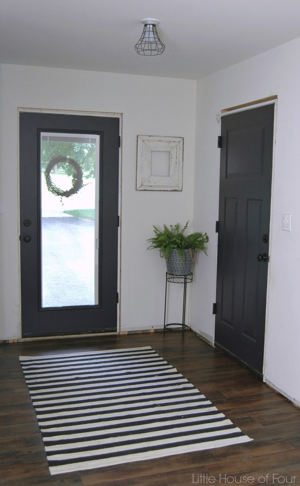 Thrifty Diy Mudroom Reveal Little House Of Four