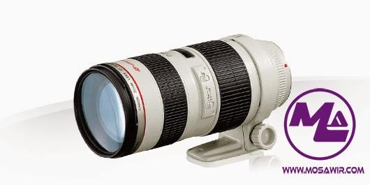 عدسة كانون: EF 70-200mm f/2.8L USM