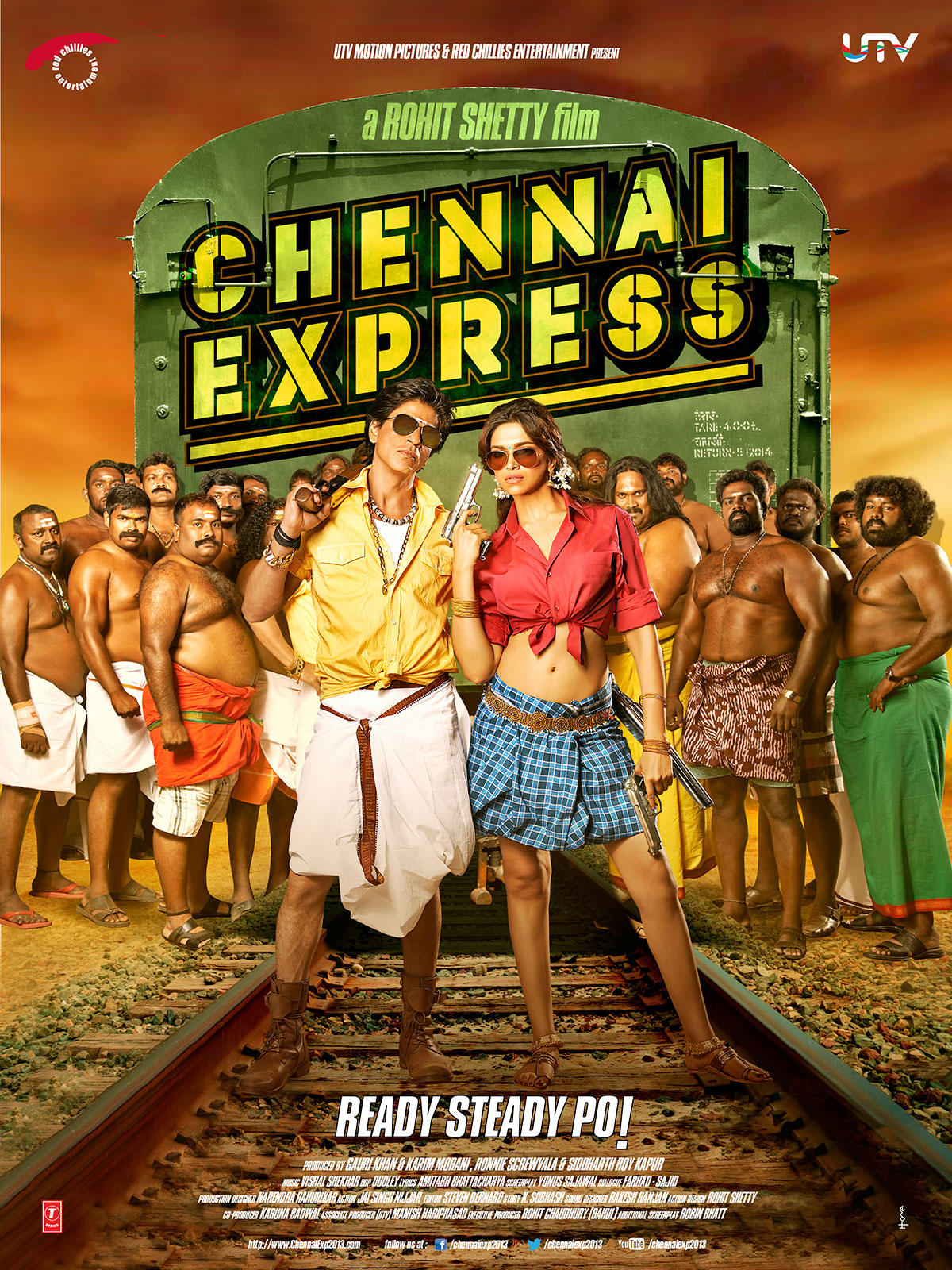 Chennai Express First Look Poster | Songs By Lyrics