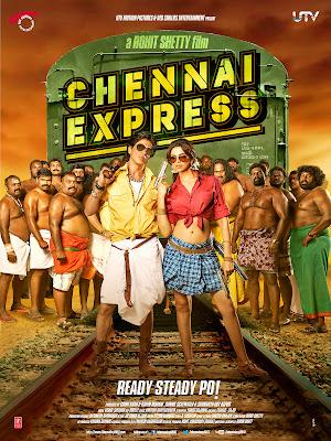 Chennai Express Shahrukh Deepika