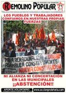 Remolino Popular Nº 71, Julio 2012